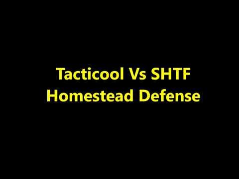 Tacticool vs shtf homestead defense; economic collapse, political unrest