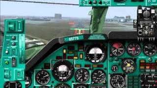 ТУ-134 А  - approach at Heathrow