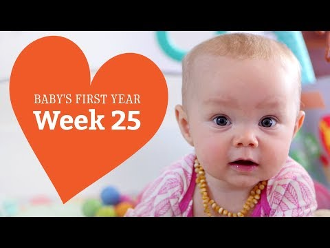 25 Week Old Baby - Your Baby's Development, Week by Week