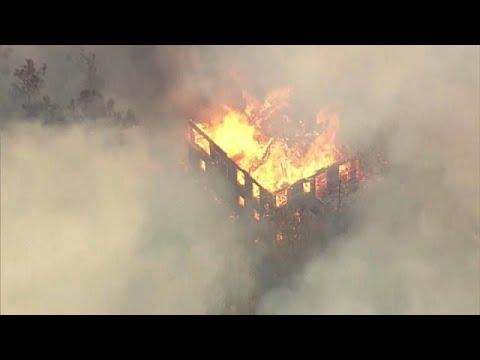 Californie : les feux continuent de s'étendre