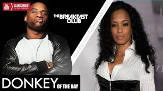 Donkey of the day Karrine Steffans I am Becky with The Good Hair