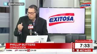 Phillip Butters en Exitosa Noticias Programa Completo 11 de septiembre de 2017 1