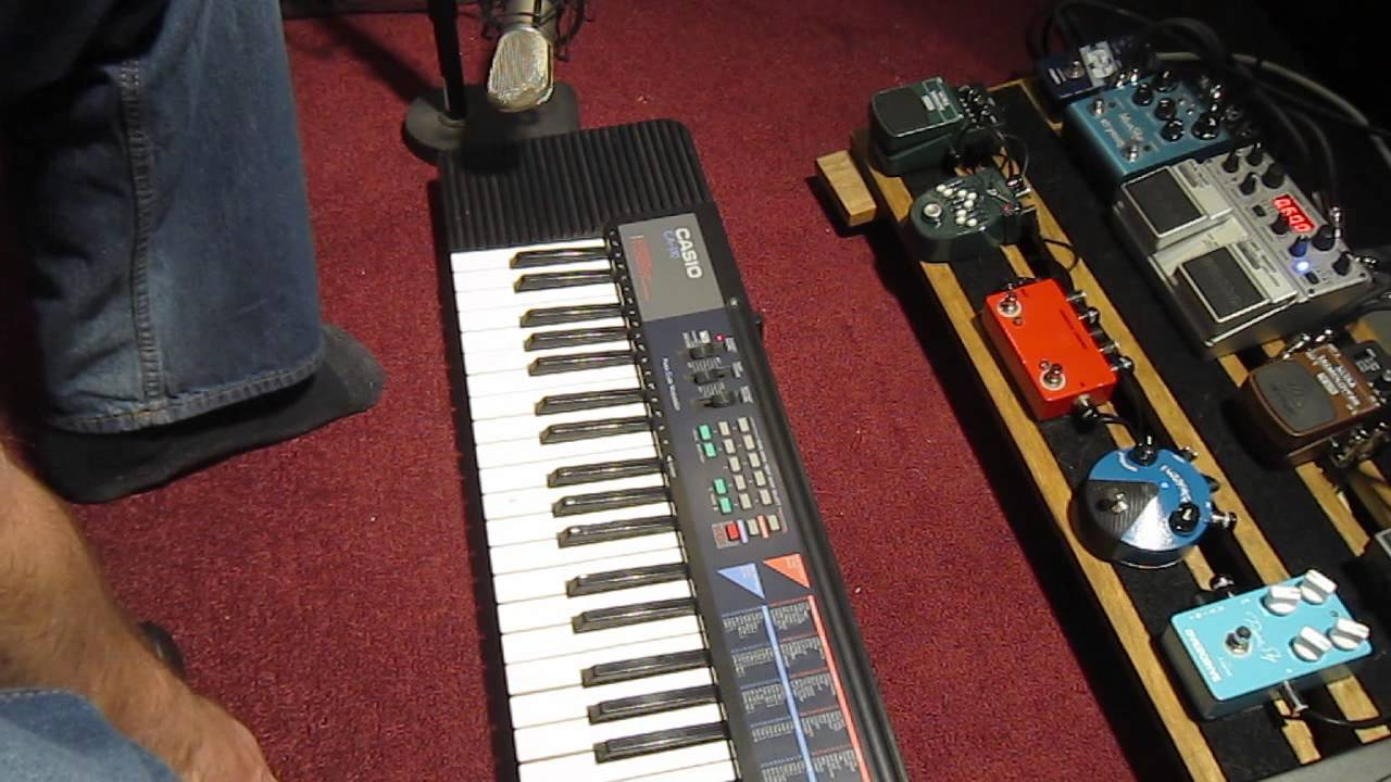Circuit Bent Casio Sk1 Sampling Keyboard Aliendevices Ca110 Noise Toy Youtube