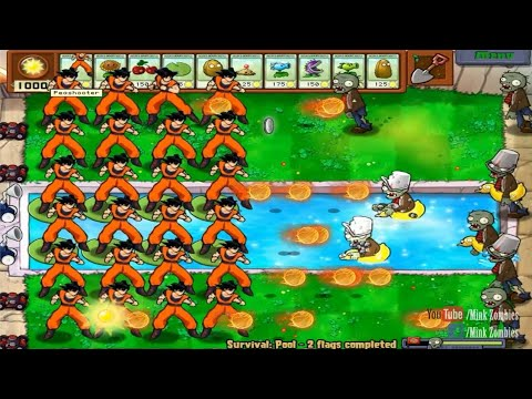 When Goku Can't Defeat Zombies - Plants vs Zombies Animation, The Battle Is Not Over Part 5