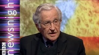 Noam Chomsky: still going strong at 85  - Newsnight