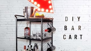 Diy Bar Cart/ Kitchen Cart Makeover