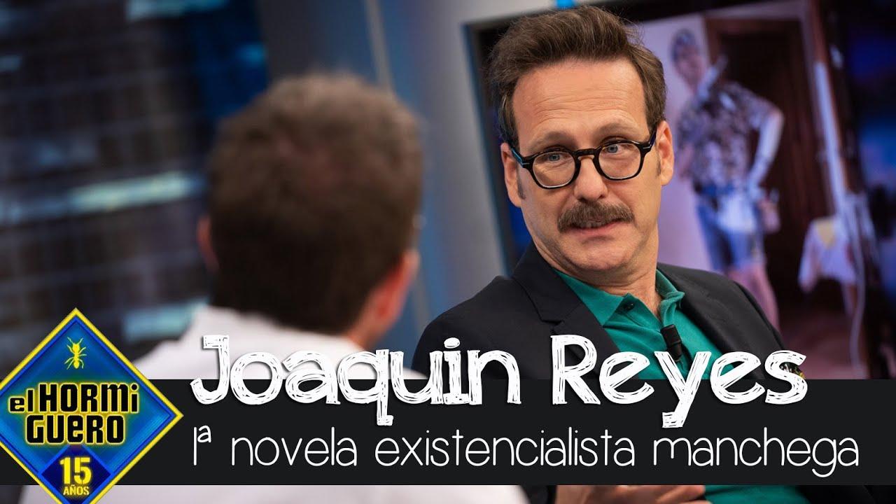 Joaquín Reyes revela los detalles de su nuevo libro - El Hormiguero