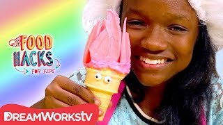 Poppy & More Trolls Treats! | FOOD HACKS FOR KIDS
