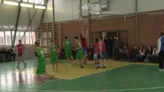 Соревнования по баскетболу гимназия № 21 & школа №12