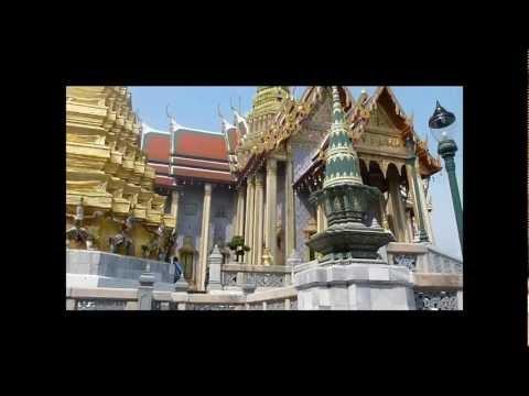 A visit at the Grand Palace, Wat Phra Kaew and Wat Pho (reclining buddha) - Bangkok Thailand