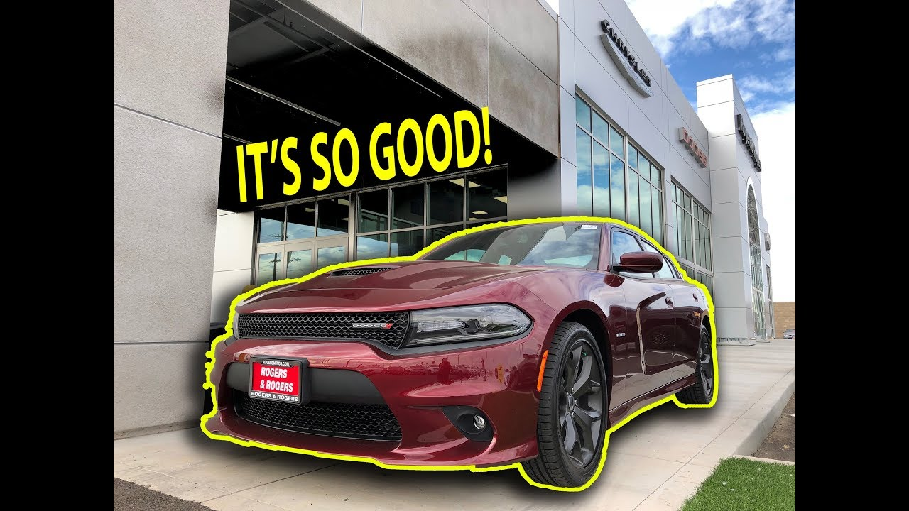2018 Dodge Charger R T Plus Super Track Pack First Looks