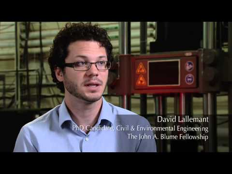 Stanford Engineering Graduate Fellow David Lallemant
