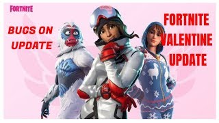 *NEW* FORTNITE VALENTINE CHALLENGE UPDATE AND THE BUGS FROM THIS UPDATE