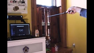 Tech-Magic: Using Interactive wand from Wizarding World of Harry Potter for Home Automation