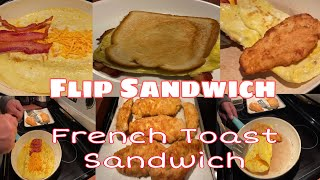 Flip Sandwich  French Toast Sandwich  Collab Cooking w Hubby  Daisy Castillon-Kennedy