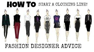 How I Started A Clothing Line & Got Celebrity Clients | FASHION DESIGNER ADVICE