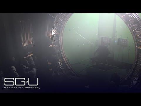 Stargate Universe: Stunt Explosion Behind the Scenes