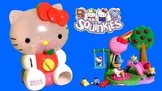 Huge Hello Kitty Squinkies Dispenser ❤ with 8 Exclusive Surprise Toys by Fun Toys Collector