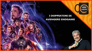 I Doppiatori di Avengers Endgame