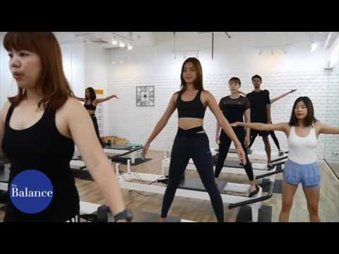 Pilates Reformer Group Class at The Balance