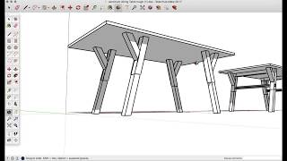 Chris Salamone Teaches Me SketchUp | How to Model a Dining Table