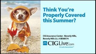 CIG Theater Ad Summer 2011 - CIG Insurance Center - Beverly Hills