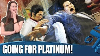 Yakuza Kiwami - The Quest For Platinum!