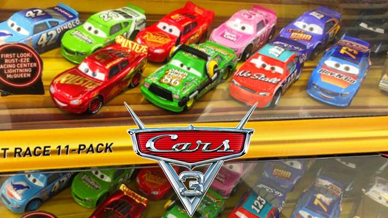 Disney Pixar Cars Movie Desert Race Pack Leak New Diecast