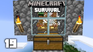 Minecraft: CRAZY CREEPER FARM - 1.15 Survival Let's play | Ep 19