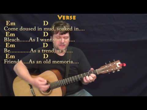 Come As You Are (Nirvana) Guitar Cover Lesson with Chords/Lyrics - Munson