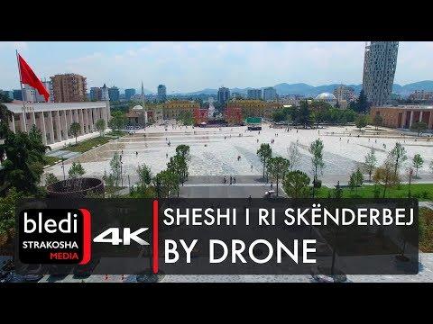Sheshi i ri Skënderbej [Drone video | 4K UHD]