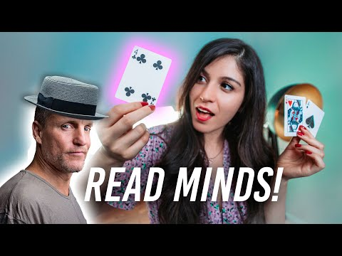 Learn to READ MINDS like in NOW YOU SEE ME - Card Trick!
