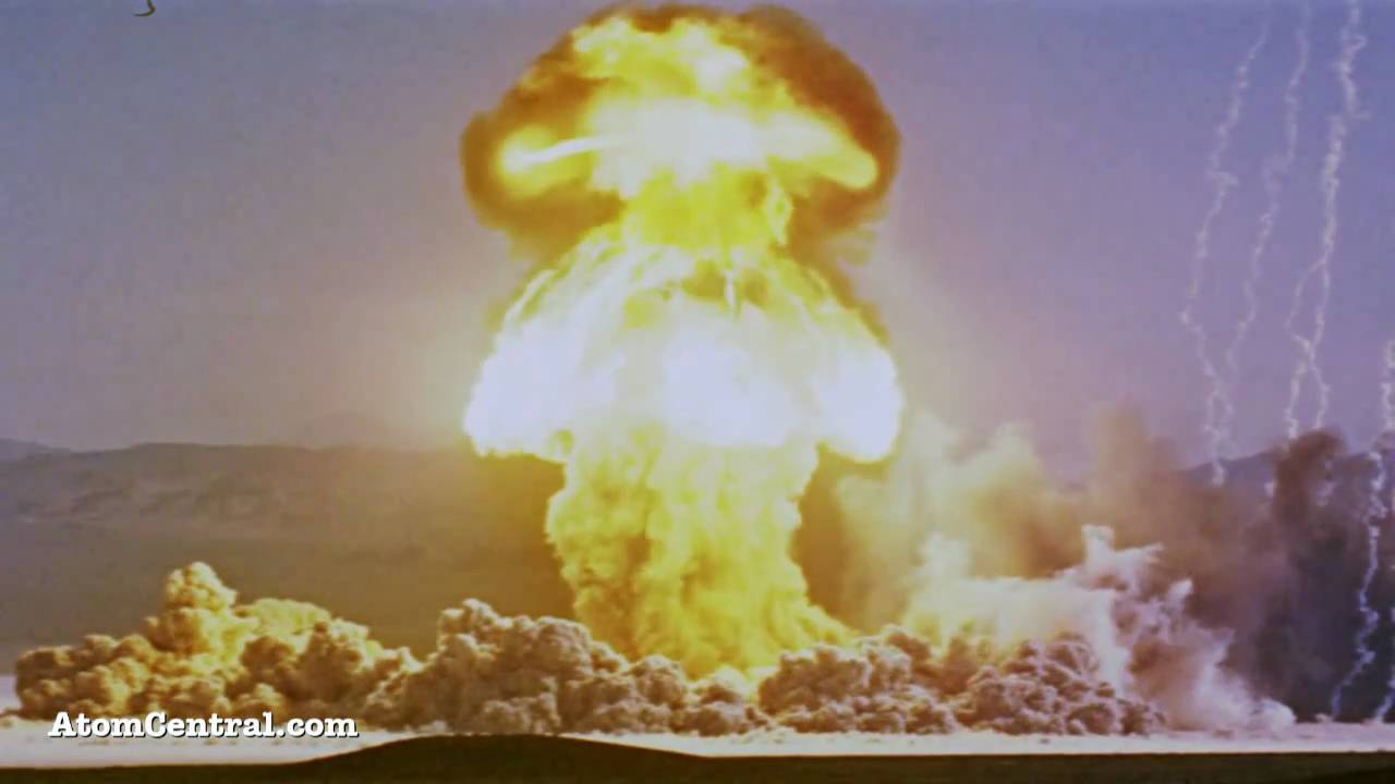 nuclear explosion hd youtube