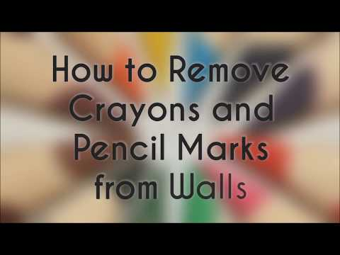 3 Effective Ways to Remove Crayon & Pencil Marks from Walls | How To Remove Anything from Wall