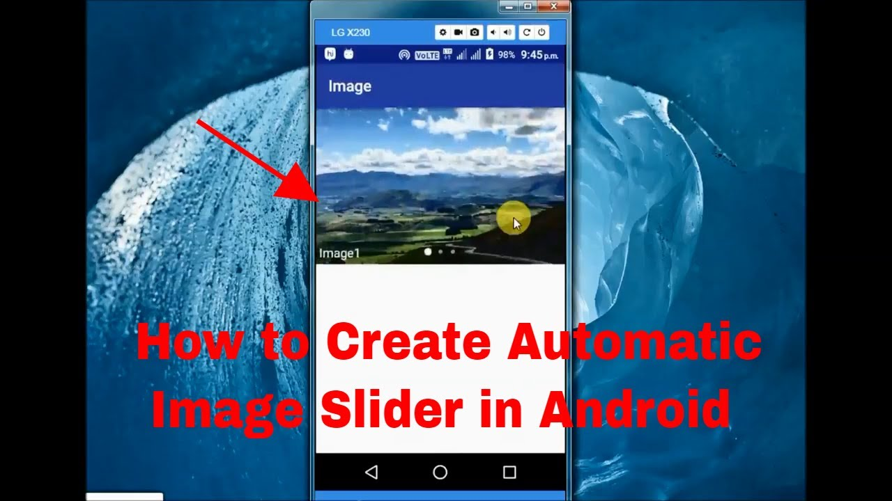 How to Create Auto Image Slider in Android