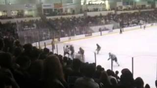 NMU vs Michigan Tech goal