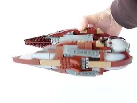 Lego 7752 Dooku's Solar Sailer playability