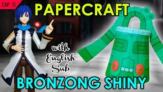 CÓMO HACER PAPERCRAFT - BRONZONG SHINY (WITH ENG SUB)