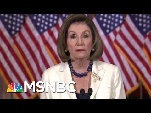 Pelosi Announces House Moving Forward With Articles Of Impeachment   Velshi & Ruhle   MSNBC
