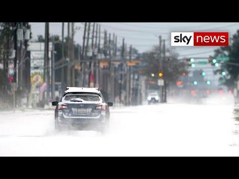 'Unprecedented' arctic weather shocks Texas