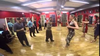 Видео урок. Ритм в танго. Себастьян Арсе и Анастасия Извекова. Арсетанго Академия