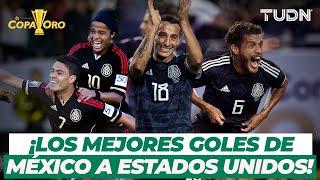 ¡El Gigante de CONCACAF! Los mejores goles de México a Estados Unidos | TUDN