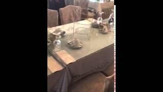 Tina's Traditional Tearoom - Bridal Table setup
