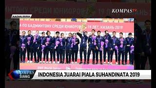 Indonesia Juarai Piala Suhandinata 2019