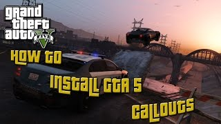 How to install callouts for GTA 5 LSPDFR Mod