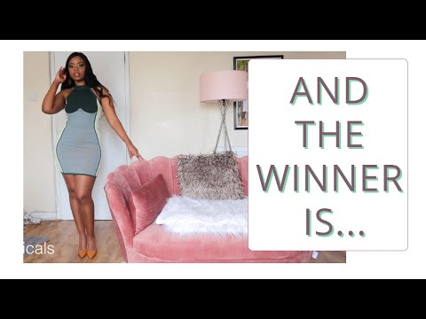 YOU PICKED THE PANTYHOSE | Trying on the WINNER Tights from the Youtube Poll
