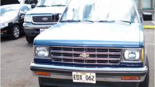 1984 Chevrolet S10 Blazer Used Cars Pearl City HI
