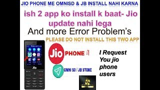 How To Install Omni Sd In Jio Phone - Travel Online