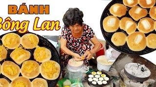 Bà ngoại U70 đổ bánh Bông Lan Trứng muối siêu nhanh trên vỉa Sài Gòn | Saigon Travel