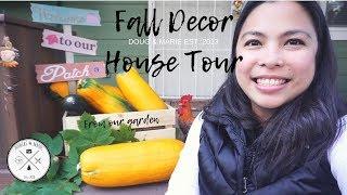 DIY FALL DECOR HOUSE TOUR | DOLLAR TREE CRAFTS[Doug&Marie At Home]